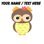 Custom Cartoon Owl
