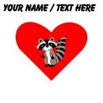 Custom Raccoon Heart