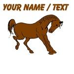 Custom Brown Horse