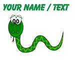 Custom Green Snake