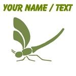 Custom Green Dragonfly