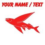 Custom Red Flying Fish