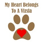 My Heart Belongs To A Vizsla