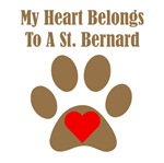 My Heart Belongs To A St. Bernard