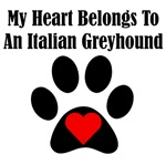 My Heart Belongs To An Italian Greyhound