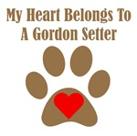 My Heart Belongs To A Gordon Setter