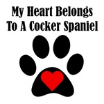 My Heart Belongs To A Cocker Spaniel