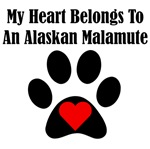 My Heart Belongs To An Alaskan Malamute