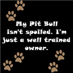 Well Trained Pit Bull Owner