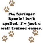 Well Trained Springer Spaniel Owner