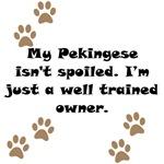 Well Trained Pekingese Owner
