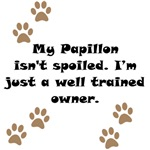 Well Trained Papillon Owner