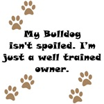Well Trained Bulldog Owner