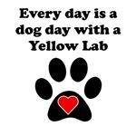 Yellow Lab Dog Day