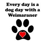 Weimaraner Dog Day