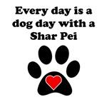 Shar Pei Dog Day