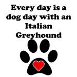 Italian Greyhound Dog Day