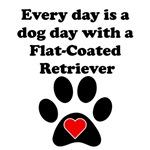 Flat-Coated Retriever Dog Day