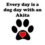 Akita Dog Day