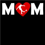 Rugby Kick Heart Mom