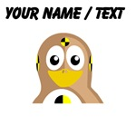 Custom Crash Test Dummy Penguin