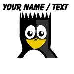 Custom Spikey Hair Penguin