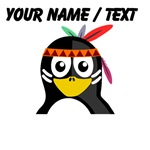 Custom Native American Penguin