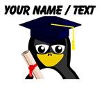 Custom Graduate Penguin