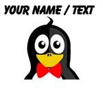 Custom Bowtie Penguin