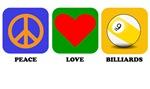 Peace Love Billiards