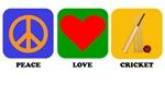 Peace Love Cricket
