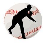 Baseball Pitcher Silhouette
