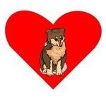 Australian Shepherd Heart