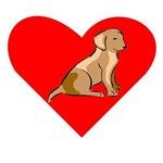 Labrador Retriever Heart