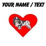 Custom Cavalier King Charles Spaniel Heart