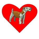 Irish Terrier Heart