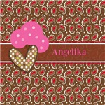 Paisley Polka Dots Personalized
