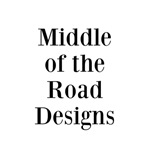 Middle of the Road Designs on t-shirts, bags, purs