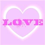 Love Paint Splatter Heart