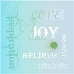 Joy Rising Aqua Sky
