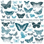 Blue Butterflies Imagine