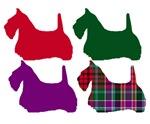 Scotty Dog Purple