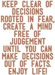 Facts Enjoy Life! Design