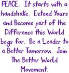 Be A Leader Better World Movement Design