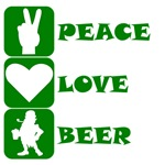 Peace Love Beer