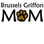 Brussels Griffon Mom