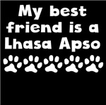 My Best Friend Is A Lhasa Apso