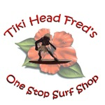 Tiki Head Fred's Surf Shop | Retro Tiki Surfer T-shirts & Gifts