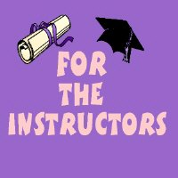 For The Instructors