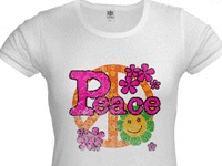 Vintage Peace  Tshirts and Gifts